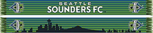 Seattle Sounders FC MLS Scarf - Seattle Skyline