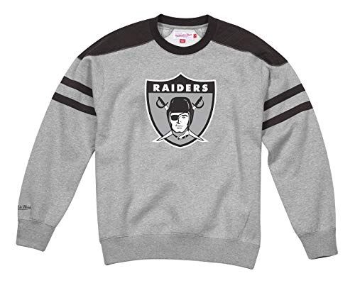 - Mitchell & Ness Oakland Raiders NFL Post Season Run Men's Crew Sweatshirt