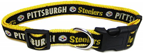 Buckle Steelers (Pets First NFL Pittsburgh Steelers Pet Collar, Small)