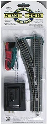 Bachmann Remote Turnout - Left - N Scale (Bachmann N Scale Track Layouts)
