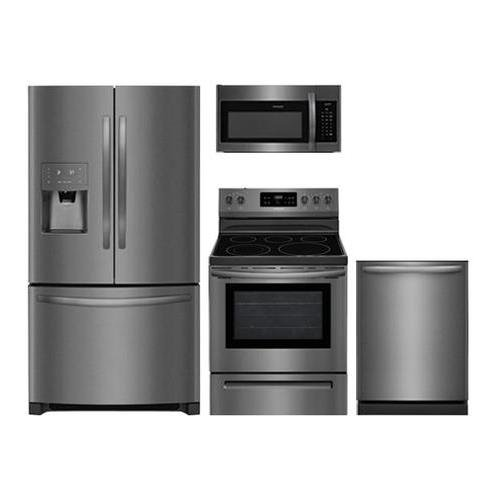 Frigidaire 4-Piece Black Stainless Steel Package,FFHB2750TD