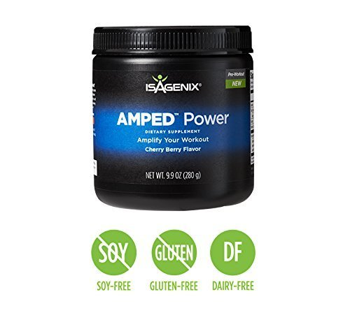 NEW Isagenix AMPED Power, 9.9 oz