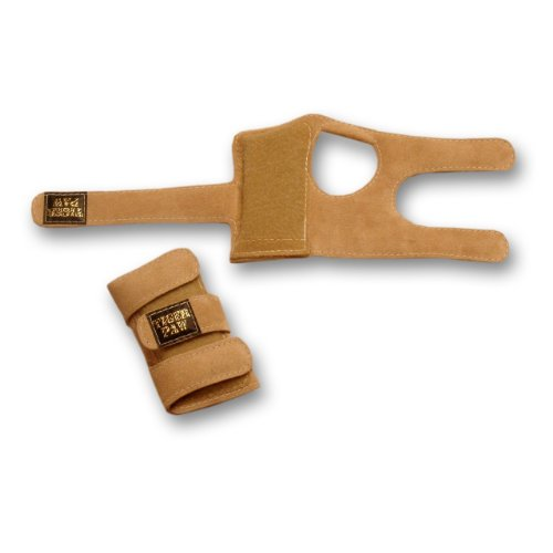 Tiger Paws Gymnastics Wrist Supports (Sand; (Athletics Tigers)