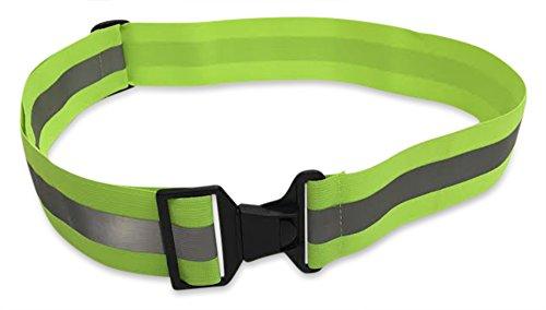 Glow Belt - Salty Lance - Running Belt - Reflective Belt - PT Belt - Military Reflective Belt - Yellow (Belt Glow)