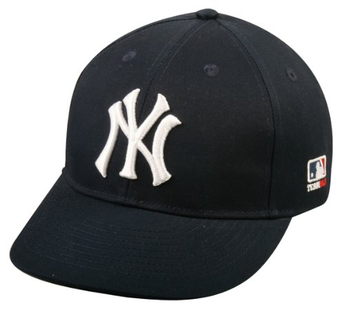 (Youth FLAT BRIM New York Yankees Home Navy Blue Hat Cap MLB Adjustable)