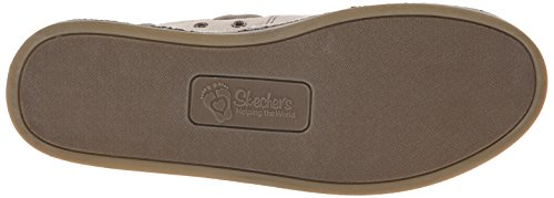 Skechers Bobs Womens Chill Slip-On Flat Natural
