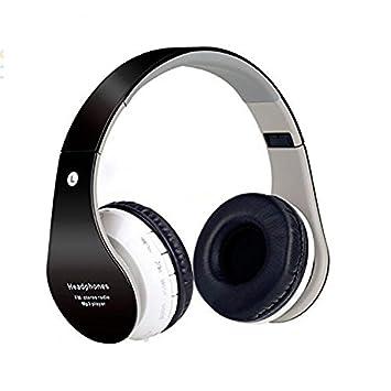 QIHANGCHEPIN Auriculares intrauditivos Bluetooth para niños 85dB Límite de Volumen Auriculares Plegables inalámbricos/con Cable