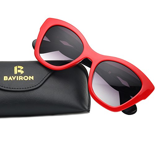 BAVIRON Oversized Stylish Sunglasses Big Frame Square Lips Retro Cool womens Eyewear - Copy Designer Sunglasses
