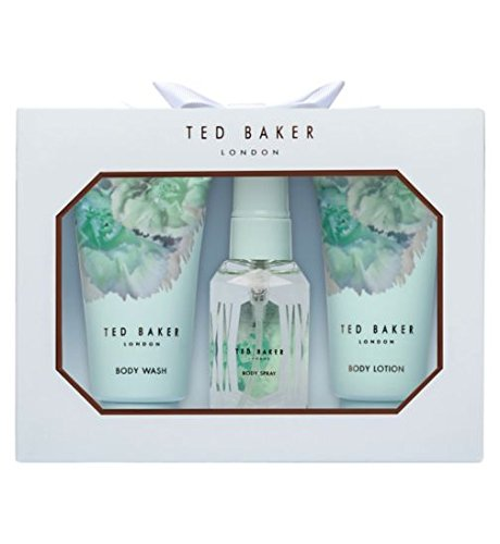 Ted Baker Mini Trio Gift inc: Body Spray Body Lotion & Body Wash
