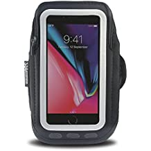 """Armpocket Seriously Good Gear Get Serious Phone Armband, Medium Strap - Fits iPhone X/8/7, Galaxy S9/S8/S7/S6, or phones up to 5.75"""""""
