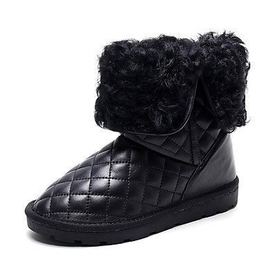 Stivali scarpa in stivaletti stivaletti in Desy bianco piatto neve fodera donna   8ff107