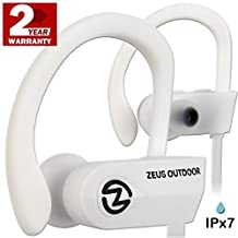 Wireless Headphones ZEUS OUTDOOR - Noise Isolating Wireless Earbuds - HD Stereo Waterproof headphones IPX 7 Sweatproof Headphones with Mic - Running Headphones - Sport Headphones - Workout Headphones