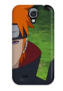 Durable Defender Case For Galaxy S4 Tpu Cover(pain Sasori)