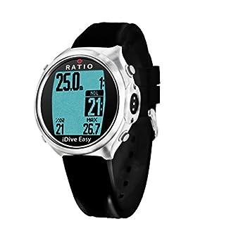 Ratio iDive Easy Avantgarde - Ordenador de buceo Zafiro.. + acero inoxidable. - Emisor fähig: Amazon.es: Deportes y aire libre