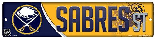 Buffalo Sabres Street Sign - Rico HSN7502 Plastic Street Sign , Buffalo Sabres