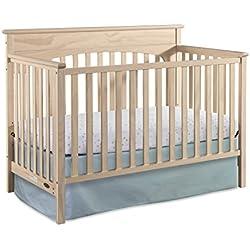 Graco Lauren 4-in-1 Convertible Crib, Whitewash