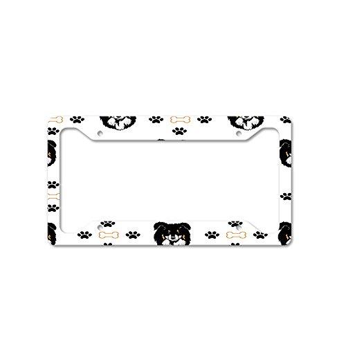 dog bone license plate frame 4 - Dog License Plate Frames