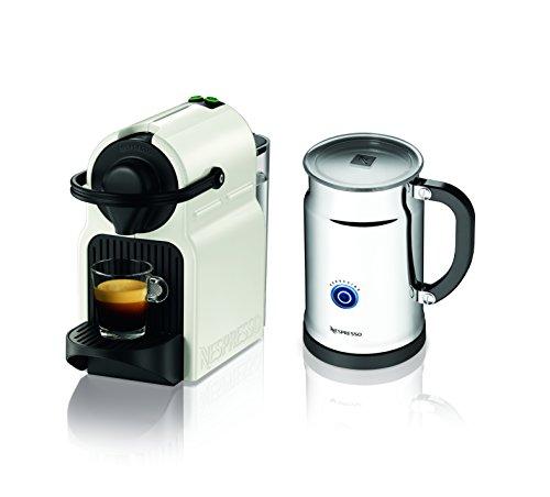 Nespresso Coffee Maker Usa : From USA Nespresso Inissia Espresso Maker with Aeroccino Plus Milk Frother, White 11street ...