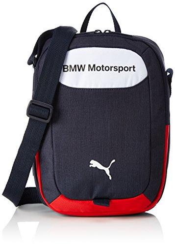 PUMA Bmw Motorsport Portable Umhängetasche, Team Blue-Puma White, 30 x 25 x 3 cm