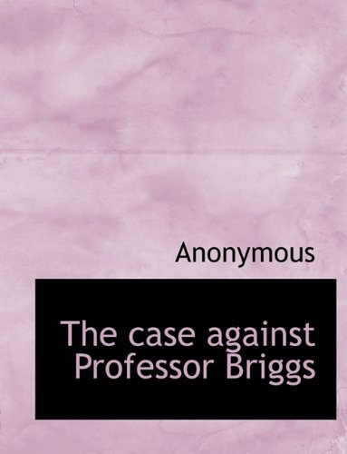 Download The case against Professor Briggs pdf epub