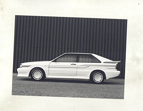 1982 ? Audi Treser Tuner Super Pfcil Coupe Quattro ORIGINAL Factory Photo - Quattro Coupe