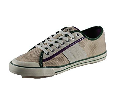 D.A.T.E. sneaker uomo Tender low canvas beige