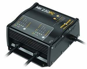 Minn Kota MK 230 PC Precision On-Board 2-Bank Charger, 15-Amp