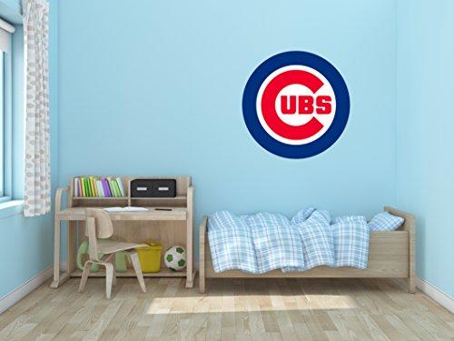 (Baseball Team Logo - Wall Decal Vinyl Sticker for Home Interior Decoration Bedroom, Window, Mirror, Car (30