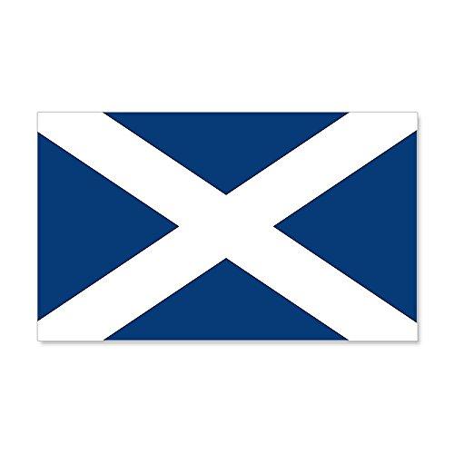 CafePress Scottish Flag 20X12 Wall Peel - 20x12 Wall Decal,