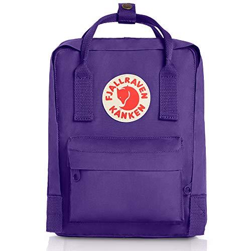 (Fjallraven Women's Kanken Mini Backpack, Purple, One Size)