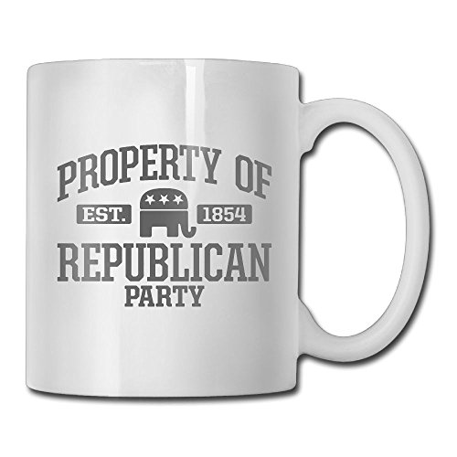Property Of Republican Party Novelty Office Lounge Ceramic Product Tea Mug Lovers Present