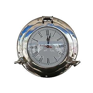 4111DmXDFEL._SS300_ Nautical Themed Clocks