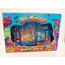 The Amazing Live Sea-Monkeys and the Search for Pirate Gold