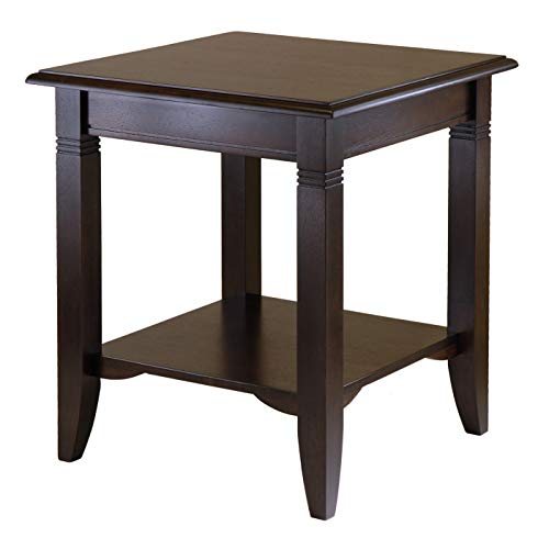 Winsome Wood Nolan Occasional Table, Cappuccino (Wood Table For Legs Sale)