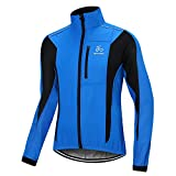OUTON Winter Warm UP Thermal Men's Cycling Jacket Windproof Water-Resistant Breathable Outdoor Sportswear