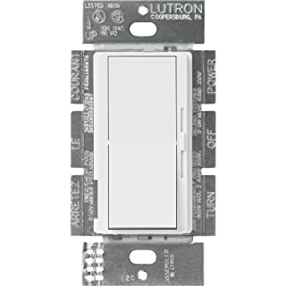 Lutron DVFSQ-F-WH Diva 1.5 A 3-Way Single Pole 3-Speed Fan Control, White