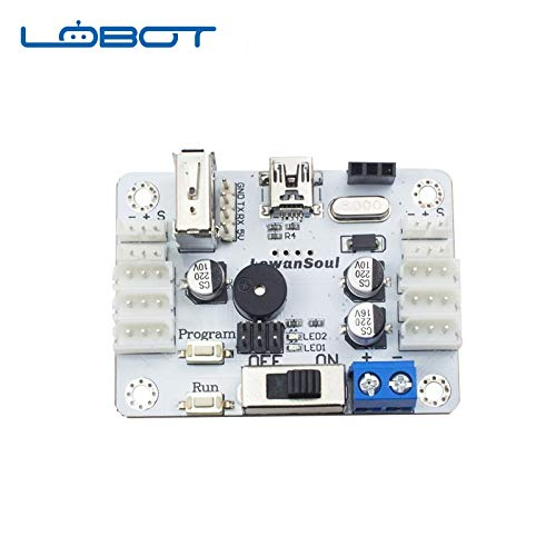 Kamas LewanSoul Robot LX-16A Serial Bus Servo Controller Communication Tester Remote Control Board RC Parts Robot Toys for Children - (Color: BusServoController)