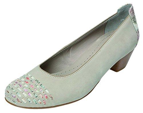 Jenny - Zapatos de vestir para mujer gris moon/komb. Weite H moon/komb. Weite H