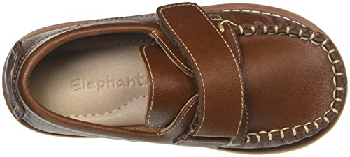 Elephantito Boys' Nick K Boating Shoe, Brown, 13 M US Little Kid by Elephantito (Image #8)