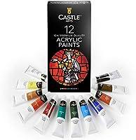 Set de peinture acrylique pour débutants, étudiants ou artistes - Un mélange de qualité et de polyvalence - Couleurs...