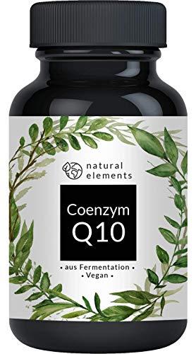 Coenzym Q10-200mg pro Kapsel - Mehrfacher Sieger 2020/2019* - 120 vegane Kapseln - Premium Q10 aus pflanzlicher Fermentation - Laborgeprüft, hochdosiert, vegan & hergestellt in Deutschland