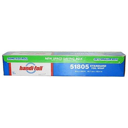 - HFA 51805 18 x 500 Ft Standard Gauge Roll Foil - 1 / RL by Handi-foil