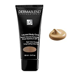 Dermablend Leg and Body Creme in Suntan 3.4fl oz