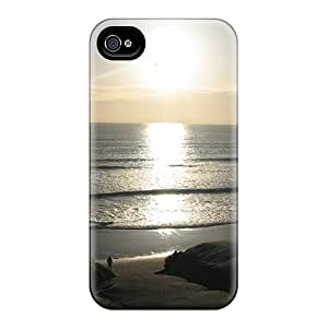 Fashion UwLtYKK2192rqAUy Case Cover For Iphone 4/4s(powerful Sunset)