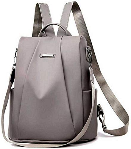 Posshusa Backpack for women Stylish | women backpack latest | school bag for girls (Grey)