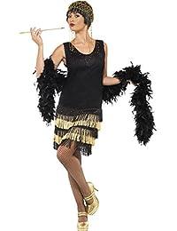 Smiffy's Women's 20's Fringed Flapper Costume
