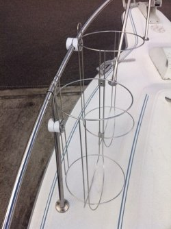 ボートフェンダーホルダーLLサイズ2連セット