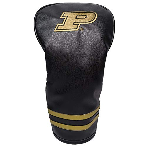 Boilermakers Club Golf Purdue - Team Golf NCAA Purdue Boilermakers Vintage Driver Golf Club Headcover, Form Fitting Design, Retro Design & Superb Embroidery