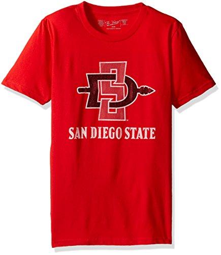 Original Retro Brand NCAA San Diego State Aztecs Youth Boys Tee, Large, ()