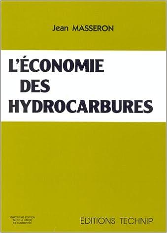L'économie des hydrocarbures pdf ebook